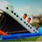Hüpfeburg Titanic