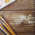 Malen mit dem Pinsel
